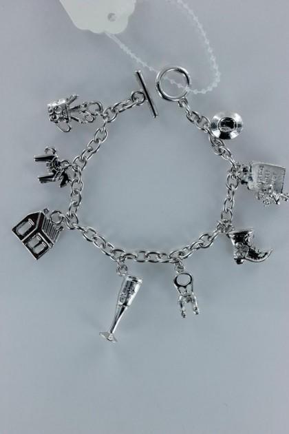 Luckycharm baseball bracelet