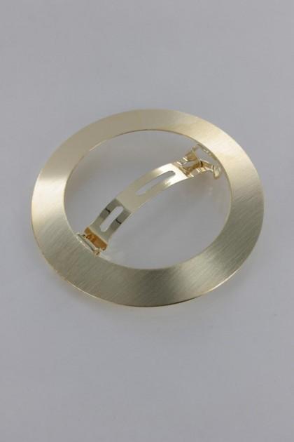 Medium Simple Round Barrette