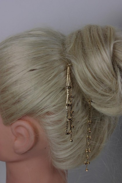 Three Line Dangle Bobby Pin