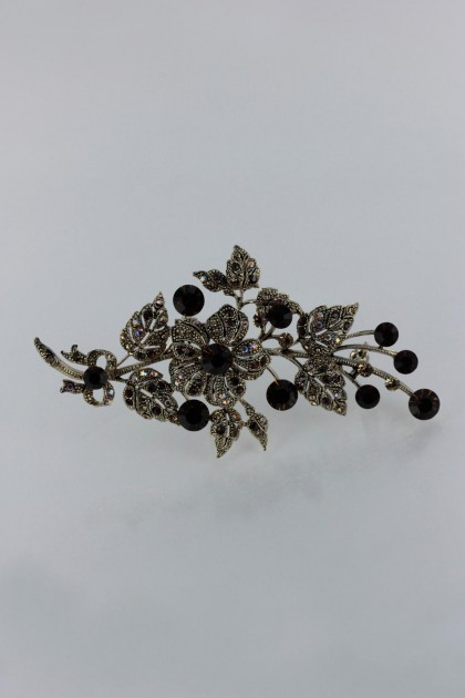 large flower brooch