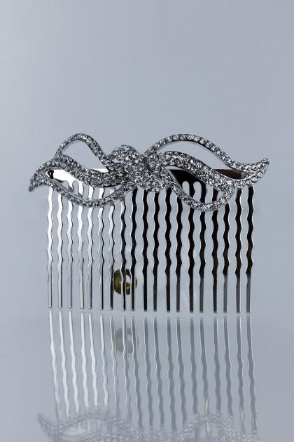 Botique party actue ribbon side comb