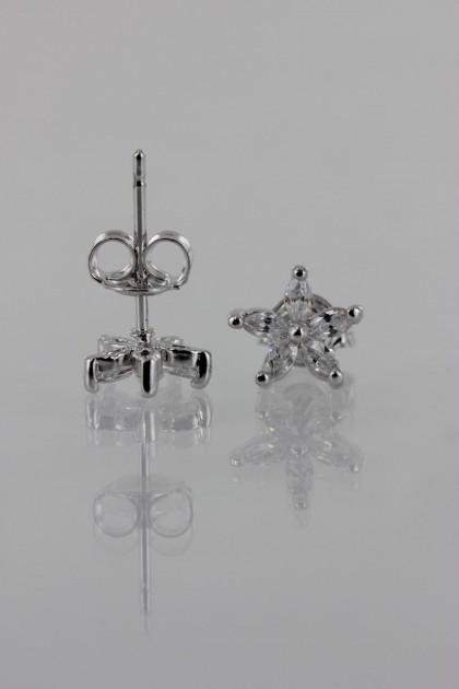 Star CZ Earring