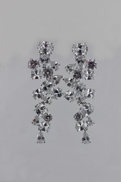 Lux Bridal CZ Earring