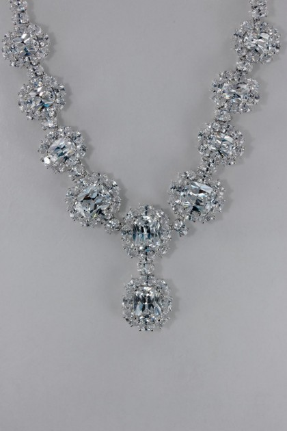 Oval CZ Necklace Wholesale