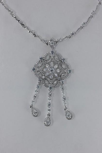 Baroko CZ Necklace Wholesale