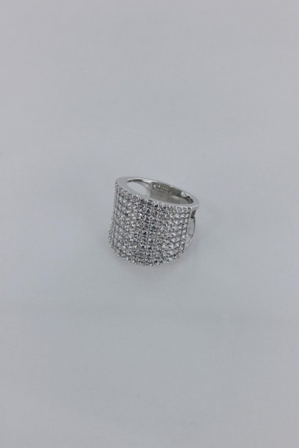 Pavement CZ Ring Wholesale