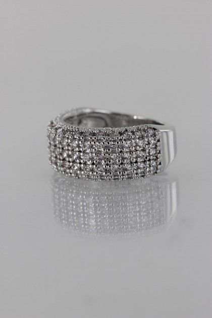 Timeless CZ Ring
