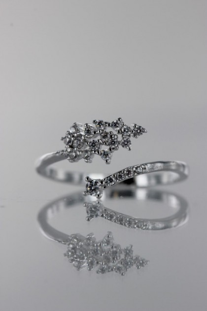 Lovely CZ Ring
