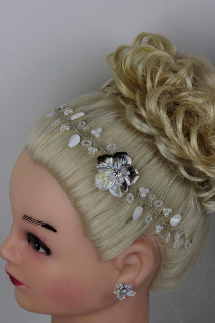 Handmade Bridal Hair with Bobby Pin