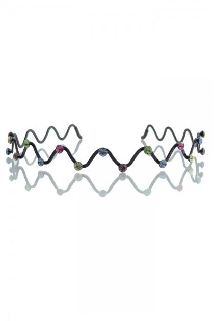Zig-Zag Prom Headband