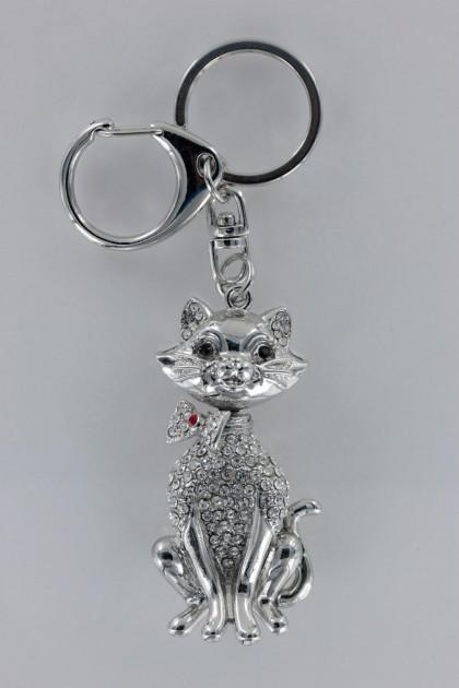 Happy Cat 3D Key Chain
