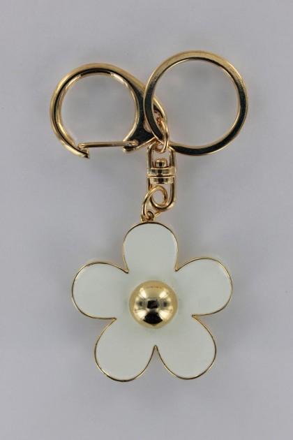 Trendy Flower Key Chain