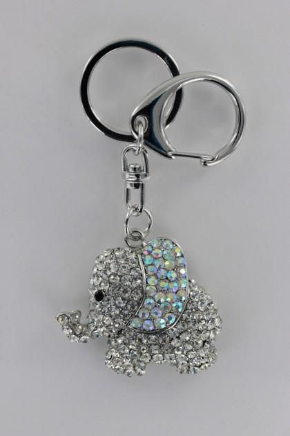Elephant 3D Key Chain