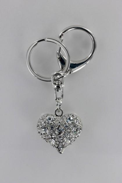 Mini Heart 3D Key Chain