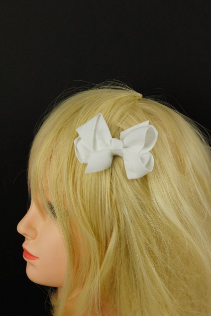 SCHOOL COLOR BOW CLIP PACKAGE - TM