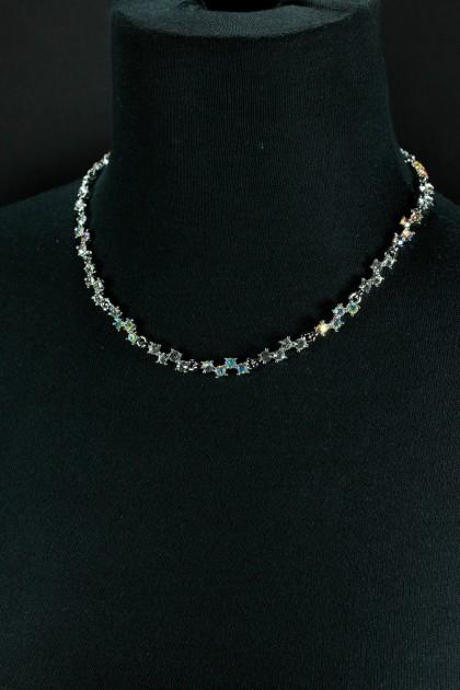 zig zag bridal necklace jewelry
