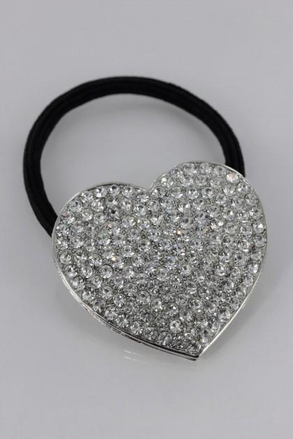 Heart Ponytail Holder Wholesale