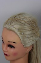 Five Line Pearl Bobby PIn
