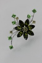 flower brooch wholesale