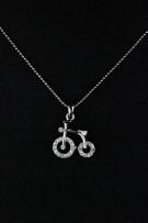 Biycle Large Necklace