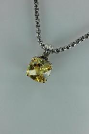 CZ-NP711 Antique CZ pendent necklace