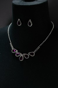 Trickle necklace set