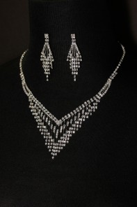 Rain necklace set