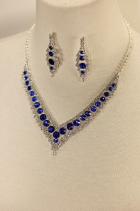Baroko rhinestone necklace set