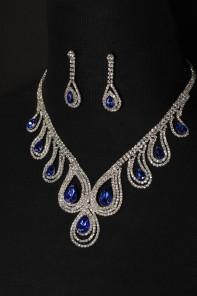 Peakcock necklace set