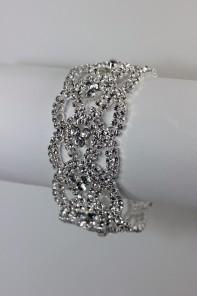 Elegance rhinestone wedding bracelet