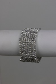 8-line rhinestone bracelet