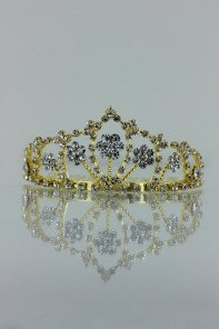 Small five flower tiara