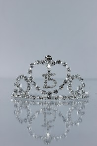 Mini-size 15th birthday tiara