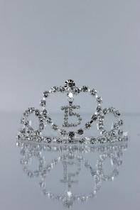 Mini-size 15th birthday tiara