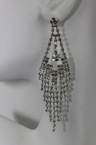 Stud rhinestone earring