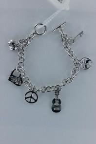 Luckycharm guitar bracelet