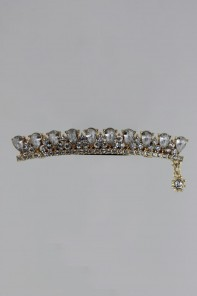tiara hair barrette