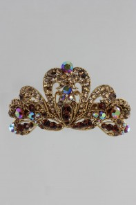Limited Large Crown Barrette