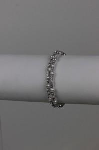 2 line pearl bracelet