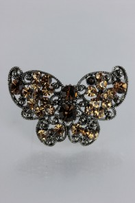 Cuttie butterfly brooch