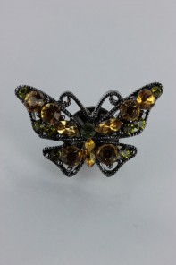 Butterfly clip deco
