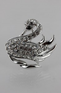 Little Swan Brooch