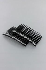 rhinestone hair comb