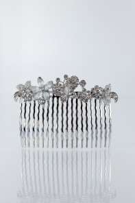 Butterfly town hair side comb for wedding