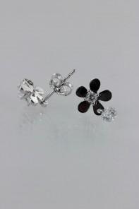 Flower CZ Earring