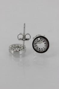 Circle CZ Earring
