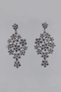 Victorian style cz earring