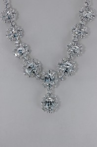 Oval CZ Necklace Wholesale