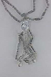 Twisted CZ Necklace Wholesale