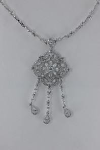 Baroko CZ Necklace Wholesale